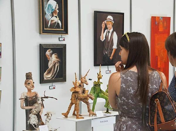 "Internationale Kunsttage in der Stadthalle Endingen: Die ""Art Endingen"""