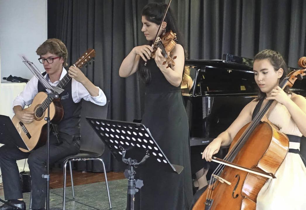 Geballte Spielfreude: Die Cellistin Na...ngen Klassik im Laufenburger Schlössle  | Foto: Roswitha Frey