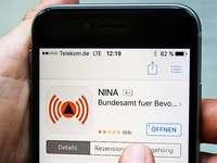 """Warn-App """"Nina"""" soll bei Notlagen informieren"""