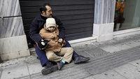Von Armut bedrohte Kinder in Europa