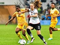 DFB-Frauen starten mit 6:1-Sieg gegen Simbabwe ins Turnier