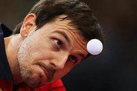 Timo Boll trägt in Rio die deutsche Fahne