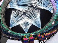 Party und Pfiffe: Rio eröffnet Sommerspiele mit bunter Show