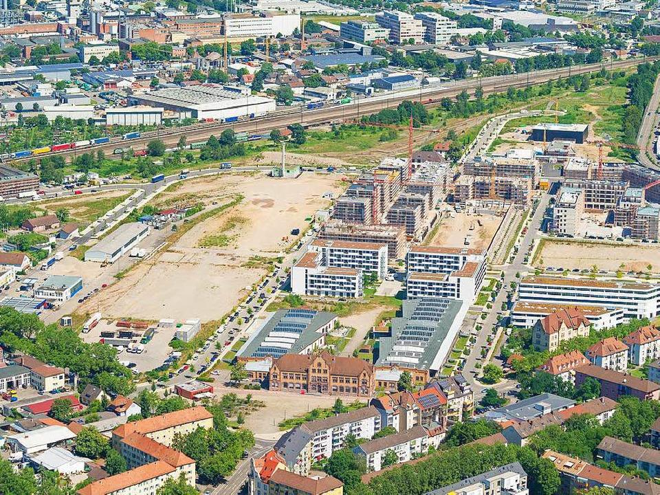Das Bündnis Wohnen blieb stumm bei vie...aben wie hier dem Güterbahnhofsareal.     Foto: Nils Theurer