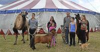 Von Kindesbeinen an mit dem Zirkusleben eng verwachsen