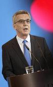 Die SPD k�nnte de Maizi�res Katalog gegen Terrorgefahr mittragen