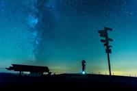 So wolkenverhangen war die Sternschnuppen-Nacht in S�dbaden