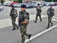 Soldaten sollen bei der Foire aux Vins für Sicherheit sorgen