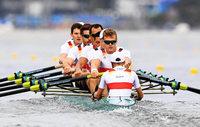 Deutschland-Achter unterliegt Briten: Olympia-Silber