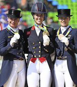 Silber und Bronze für die deutschen Reiter