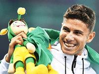 Brasilianer als Überflieger, deutscher Ringer holt Bronze