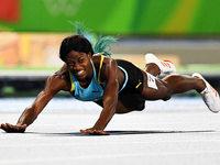 Shaunae Miller, mit Hechtsprung zum Gold