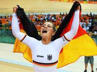 Kristina Vogel gewinnt Gold im olympischen Bahn-Sprint