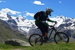 Mountainbiken im Alta Rezia