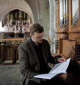Sietze de Vries in der Klosterkirche St. Peter