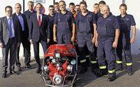 Neue Tragkraftspritze für die Tunauer Feuerwehr