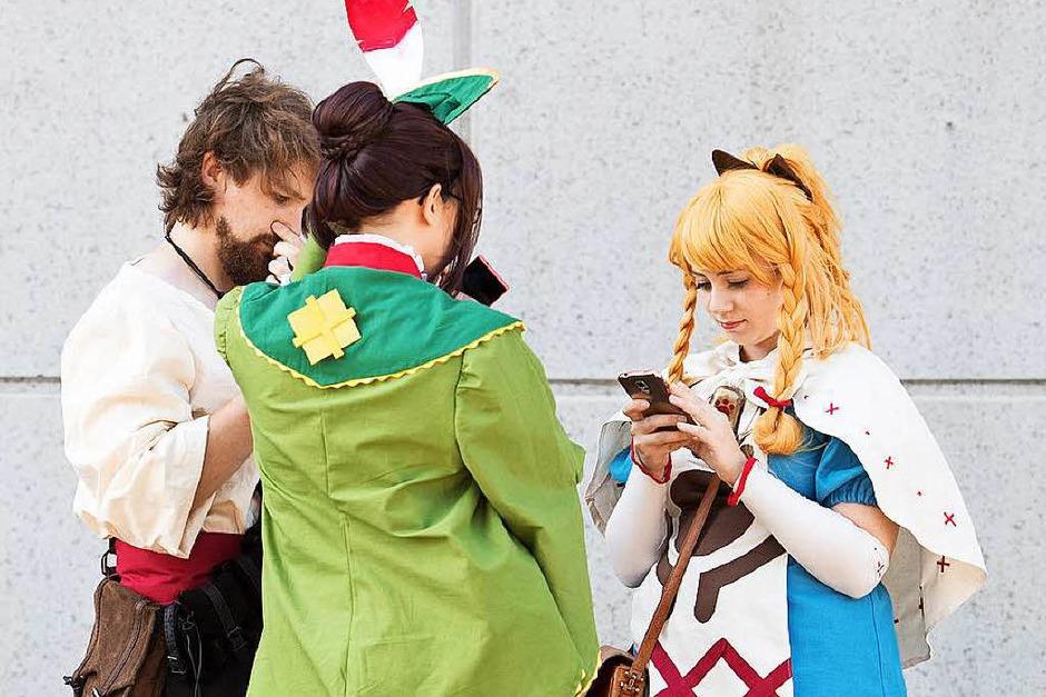 Cosplayer: Menschen, die Figuren aus Spielen spielen (Foto: dpa)