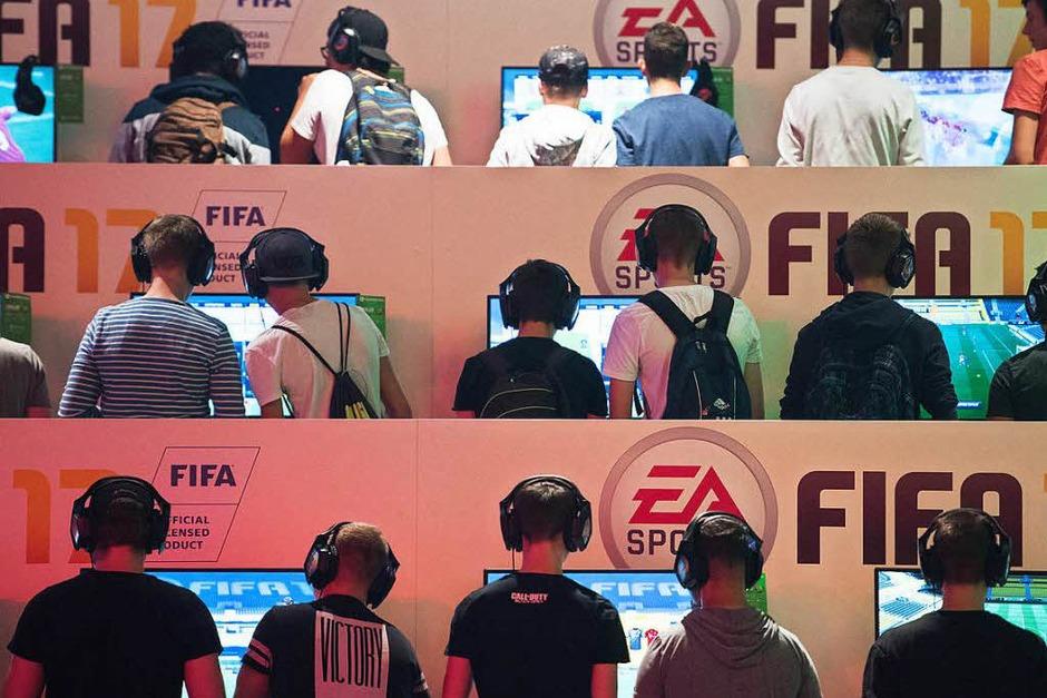 Impressionen von der Gamescom, der weltgrößten Publikumsmesse für Videospiele. (Foto: dpa)