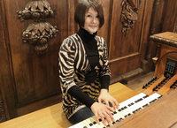 Mit Domorganistin Eiko Maria Yoshimura in St. Blasien