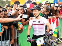 Trotz Verletzung: Mountainbikerin Sabine Spitz 19. in Rio de Janeiro