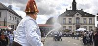 Festzug der Feuerwehren