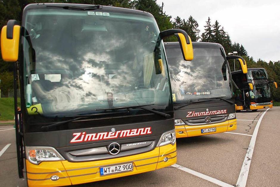 Von Gipfel zu Gipfel: 209 Leser der Badischen Zeitung machten sich in vier Reisebussen von Zimmermann-Reisen in Bad Säckingen am Samstag auf den Weg in das Schweizer Gletschergebiet Glacier 3000 und erlebten tolle Ausblicke. (Foto: Hildegard Siebold)