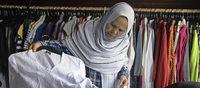 """Im """"Haus 22"""" erhalten Fl�chtlinge Kleidung und Alltagsgegenst�nde"""