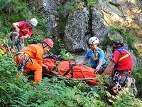 Bergwacht warnt: Geldmangel gef�hrdet Eins�tze