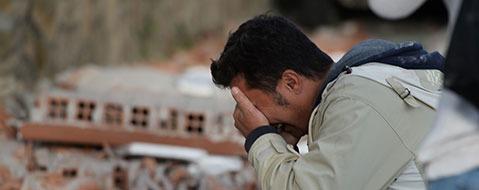 Erdbeben ersch�ttert Italien - viele Tote und Verletzte