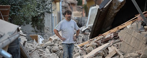 Viele Tote und Verletzte bei Erdbeben in Italien