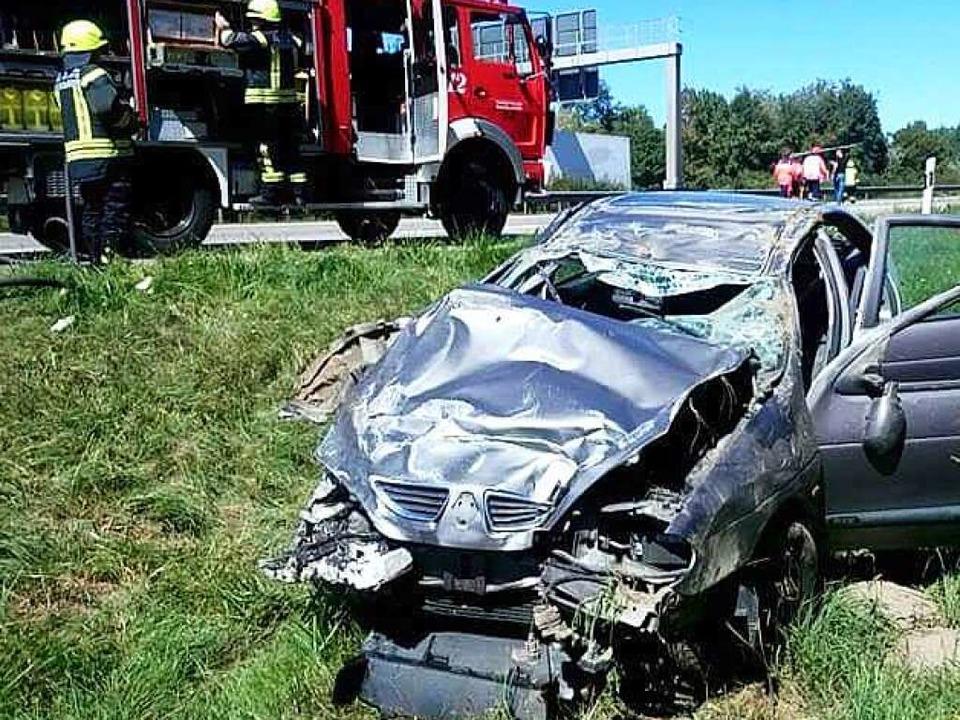 Schwerer Verkehrsunfall auf der A5 zwischen Dreieck Neuenburg und ...