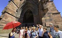 Stadtf�hrungen in Freiburg - ein Markt ohne Platzhirsch