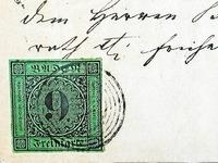 Die teuerste Briefmarke wurde einst  in Ettenheim abgestempelt