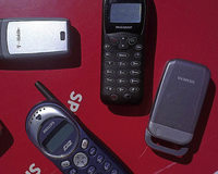 Handys sammeln f�r die Umwelt