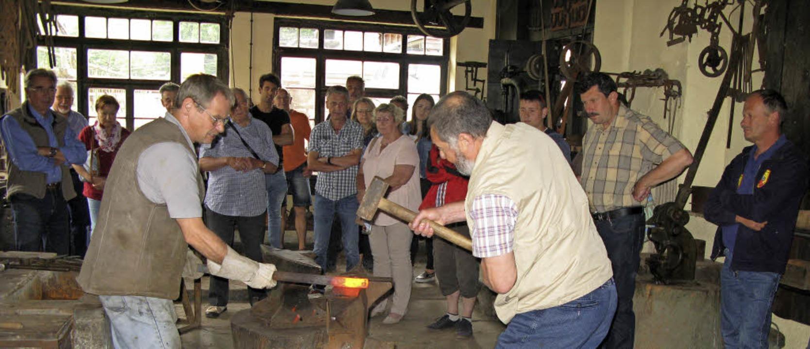Die Alte Schmiede Mambach lädt am Tag des offenen Denkmals zum Besuch ein.    | Foto: Alte Schmiede
