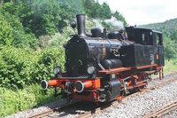 Badische Lok dampft jetzt auf der schw�bischen Eisenbahn