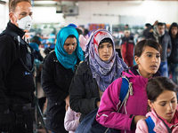Ein Jahr Fl�chtlingskrise: Haben wir's geschafft?