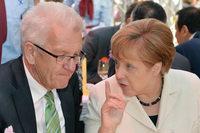 Kretschmann und Merkel: Ein Treffen weckt Fantasien