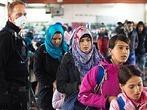 Ein Jahr Fl�chtlinge