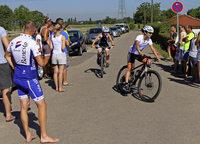 Armin Braun und Marie Ehret siegen beim Triathlon