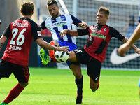 Der SC Freiburg verliert 1:2 gegen Hertha BSC Berlin