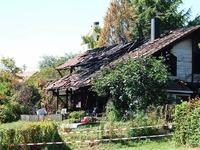 Einfamilienhaus in Kandern-Tannenkirch brennt aus
