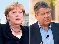 Die Sommerinterviews von Merkel und Gabriel im Check
