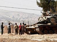Die t�rkische Armee marschiert in Syrien weiter vor