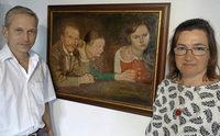 Eine K�nstlerfamilie im Blickpunkt