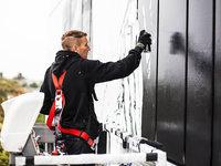 Deutschlands h�chstes Graffito entsteht in Mannheim