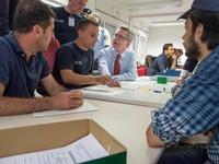Kommt ein Erfassungszentrum f�r Fl�chtlinge?