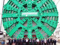 Neuer Rekord f�r Tunnelbohrmaschine von Herrenknecht