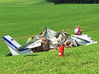 Drei Tote bei Flugzeugabsturz in Leutkirch