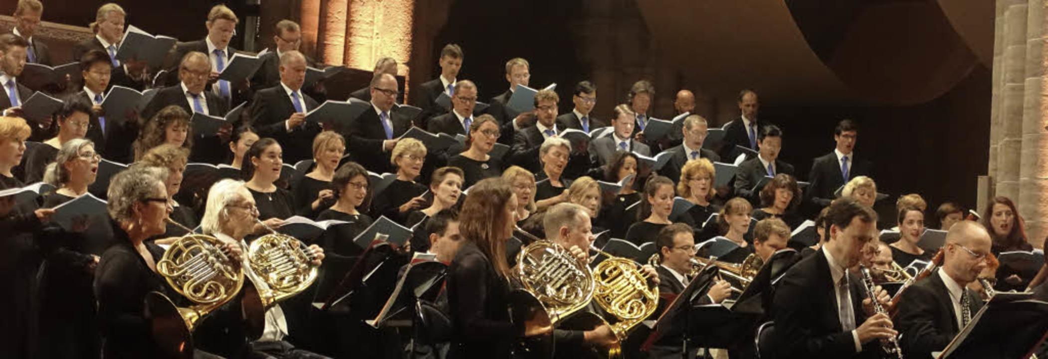 Der Auftakt des Basler Sinfonieorchest...gleichzeitig Auftakt des Orgelfestes.   | Foto: Roswitha Frey